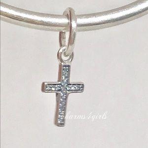AUTHENTIC PANDORA Symbol of Faith Cross Dangle